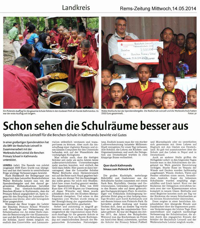 Remszeitung_15_05_2014_Spendenuebergabe_